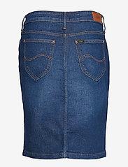 Lee Jeans - PENCIL SKIRT - denimskjørt - dark garner - 1