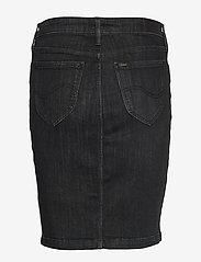 Lee Jeans - PENCIL SKIRT - denimskjørt - black orrick - 1