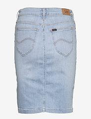 Lee Jeans - PENCIL SKIRT - denimskjørt - light coroval - 2