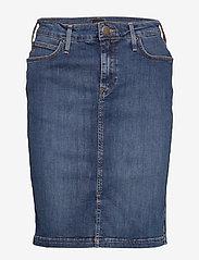 Lee Jeans - PENCIL SKIRT - denimskjørt - used foam - 1