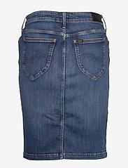 Lee Jeans - PENCIL SKIRT - denimskjørt - used foam - 2