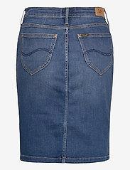 Lee Jeans - Pencil Skirt - jeanskjolar - dark len - 1