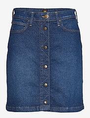 Lee Jeans - A LINE SKIRT - dark garner - 0