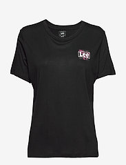 Lee Jeans - RELAXED FIT TEE - t-shirts - black - 0