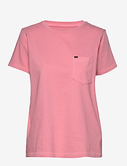 Lee Jeans - GARMENT DYED TEE - t-shirts - la pink - 1