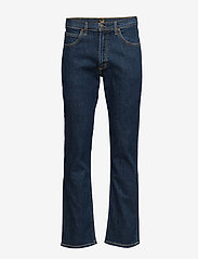 Lee Jeans - BROOKLYN STRAIGHT - relaxed jeans - dark stonewash - 5