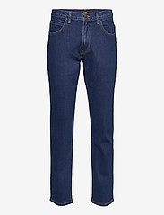Lee Jeans - BROOKLYN STRAIGHT - relaxed jeans - dark stone - 0