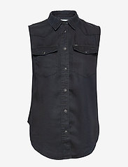Lee Jeans - SLEEVELESS SHIRT - chemises à manches courtes - sky captain - 0