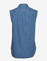 Lee Jeans - CUT OFF WESTERN SHIR - denim shirts - light summer - 1