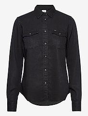 Lee Jeans - REGULAR WESTERN SHIR - jeansblouses - sky captain - 0