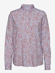 Lee Jeans - ONE POCKET SHIRT - long sleeved blouses - burned red - 0