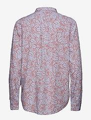 Lee Jeans - ONE POCKET SHIRT - long sleeved blouses - burned red - 1