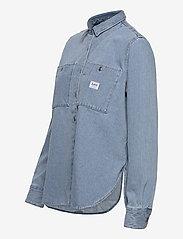 Lee Jeans - WORKER SHIRT - jeansskjortor - faded blue - 2