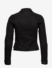Lee Jeans - SLIM RIDER - jeansjakker - black orrick - 1