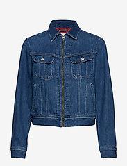 Lee Jeans - ZIP CROPPED RIDER - jeansjakker - belleville - 0