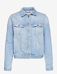 Lee Jeans - RIDER JACKET - jeansjacken - mid noosa - 0
