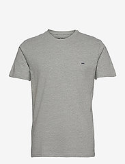 Lee Jeans - SS PATCH LOGO TEE - basic t-shirts - grey mele - 0