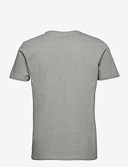 Lee Jeans - SS PATCH LOGO TEE - basic t-shirts - grey mele - 1