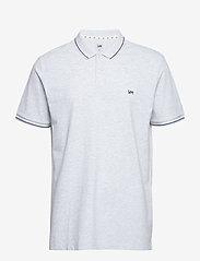 Lee Jeans - PIQUE POLO - short-sleeved polos - sharp grey mele - 0