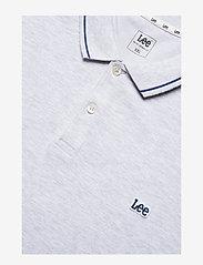 Lee Jeans - PIQUE POLO - short-sleeved polos - sharp grey mele - 2