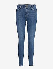 Lee Jeans - SCARLETT HIGH - skinny jeans - mid copan - 1
