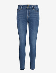 Lee Jeans - SCARLETT HIGH - slim jeans - mid copan - 1