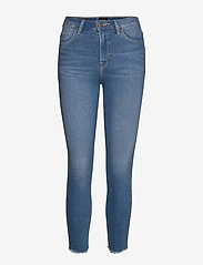 Lee Jeans - SCARLETT HIGH - slim jeans - daryl raw - 0