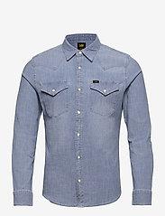 Lee Jeans - LEE WESTERN SHIRT - denim shirts - skyway blue - 0