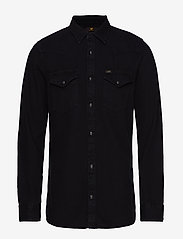 Lee Jeans - LEE WESTERN SHIRT - casual shirts - black - 1