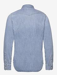Lee Jeans - LEE WESTERN SHIRT - podstawowe koszulki - frost blue - 2