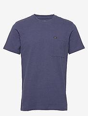 Lee Jeans - SS POCKET TEE - basic t-shirts - dark navy - 0
