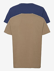 Lee Jeans - TWIN PACK GRAPHIC - basic t-shirts - green blue - 1