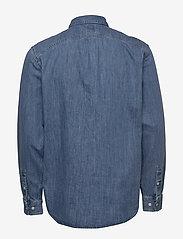 Lee Jeans - RIVETED SHIRT - peruspaitoja - washed blue - 1