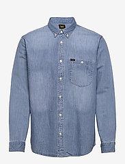 Lee Jeans - RIVETED SHIRT - denim shirts - frost blue - 0