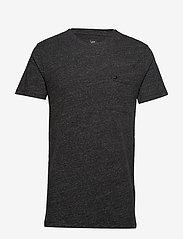 Lee Jeans - ULTIMATE POCKET TEE - basic t-shirts - dark grey mele - 0