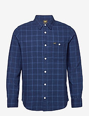 Lee Jeans - LEE ONE POCKET SHIRT - checkered shirts - indigo - 0