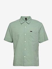 Lee Jeans - SS RESORT SHIRT - basic shirts - granite green - 0