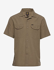 Lee Jeans - SS WORKER SHIRT - basic shirts - utility green - 0