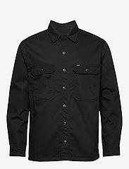 Lee Jeans - WORKWEAR OVERSHIRT - tops - black - 0