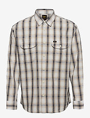 Lee Jeans - WORKER SHIRT - denim shirts - service sand - 0