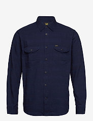 Lee Jeans - WORKER SHIRT - denim shirts - indigo - 0