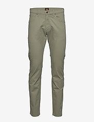 Lee Jeans - DAREN ZIP FLY - regular jeans - lichen green - 0
