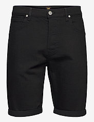 Lee Jeans - 5 POCKET SHORT - denim shorts - clean black - 0