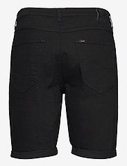 Lee Jeans - 5 POCKET SHORT - denim shorts - clean black - 2