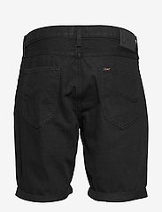 Lee Jeans - 5 POCKET SHORT - denim shorts - black rinse - 1