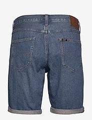 Lee Jeans - 5 POCKET SHORT - denim shorts - soft mid aliso - 1