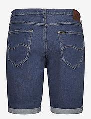 Lee Jeans - 5 POCKET SHORT - denim shorts - hawaii dark - 1