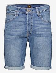 Lee Jeans - 5 POCKET SHORT - denim shorts - maui mid - 0