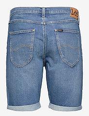Lee Jeans - 5 POCKET SHORT - denim shorts - maui mid - 1