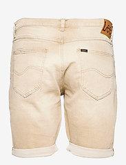 Lee Jeans - 5 POCKET SHORT - denim shorts - faded beige - 1